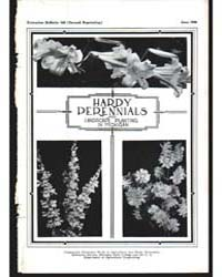 Hardy Perrenials for Landscape Planting ... by Halligan, C. P.