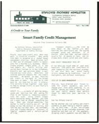 Smart Famlly Credit Management, Document... by Michigan State University