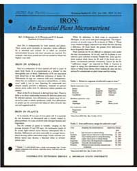 Iron : an Essential Plant Micronutrient,... by L. S. Robertson