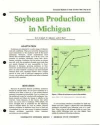 Soybean Production, Document E1549-1981 by Z. R. Helsel'.