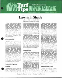 Lawns in Shade, Document E1576-1986-prin... by Thomas M. Smith