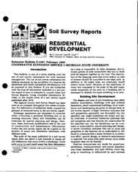 Soil Survey Reports, Document E1587-1982 by G. Lemme