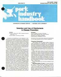 Pork Industry Handbook, Document E1596-1... by George W, Meyerholz