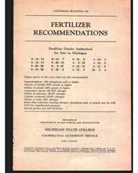 Fertilizer, Document E159Rev8 by Michigan State University