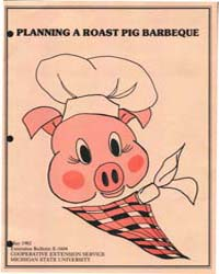 Planning a Roast Pig Barbeque, Document ... by Booren, Alden