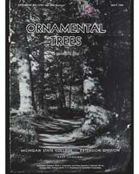 Ornamental Trees, Document E160Rev1 by Barr, Charles W.