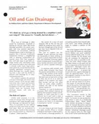 Oil and Cas Drainage, Document E1613-198... by William Patrie