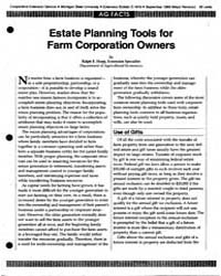 Estate Planning Tools For, Document E161... by Ralph E. Hepp