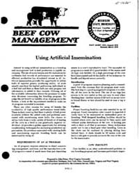 Using Artificial Insemination, Document ... by John Peters