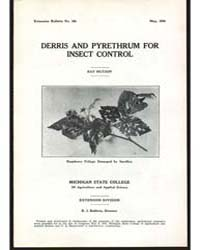 Derris and Pyrethrum For, Document E164 by Hutson, Ray
