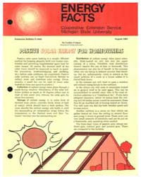 Energy Facts, Cooperative Extension Serv... by Cynthia Fridgen