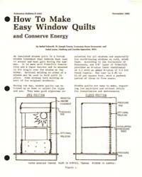How to Make Easy Window Quilts and Conse... by Bethel Schmidt