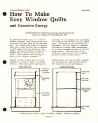 How to Make Easy Window Quilts and Conse... by Michigan State University