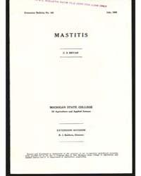 Mastitis, Document E165 by Bryan, C. S.