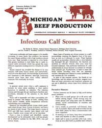 Michigan Beef Production, Document E1658... by Harlan D. Ritchie