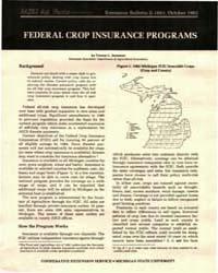 Federal Crop Insurance Programs, Documen... by Vernon L. Sorenson