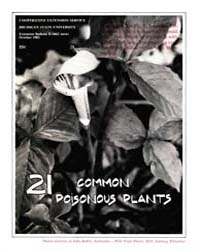 21 Common Poisonous Plants, Document E16... by John Kallas