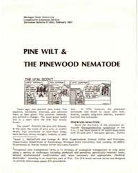 Pine Wilt & the Pinewood Nematode, Docum... by Michigan State University