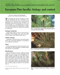 European Pine Sawfly, Biology and Contro... by Gary A. Dunn
