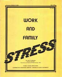 Work and Family Stress, Document E1698-1... by Soderman, Anne K.
