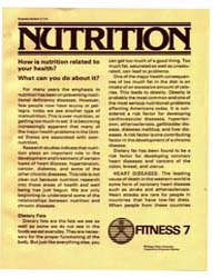 Nutrition, How is Nutrition Related To, ... by Michigan State University