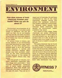 Environment How Does Misuse of Toxic Che... by Michigan State University