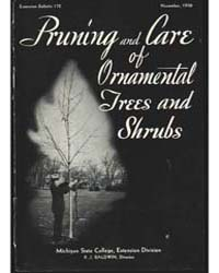 Pruning and Care of Ornamental, Document... by O. I. Gregg