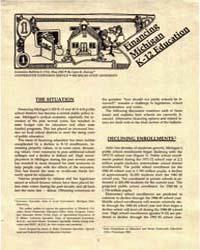Financing Michigan K-12 Education, Docum... by Lynn R. Harvey