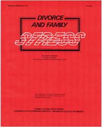 Dnoroe and Family Stress, Document E1733... by Soderman, Anne K.