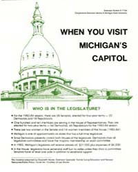 When You Visit, Document E1734-1983 by Michigan State University