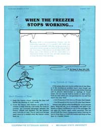 When the Freezer Stops Working, Document... by Penny K. Ross