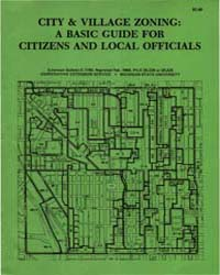 City & Village Zoning:A Basic Guide For,... by Michigan State University