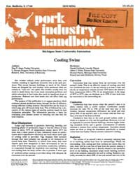 Pork Industry Handbook, Document E1748-1... by Don D. Jones