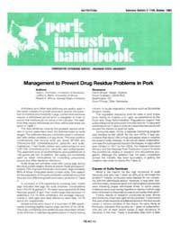 Pork Industry Handbook, Document E1749-1... by Gary L. Cromwell