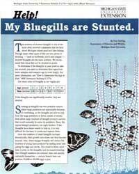 Help! My Bluegills Are Stunted, Document... by Don Garling