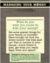 Managing Your Money, Document E1778-1986 by Field, Anne