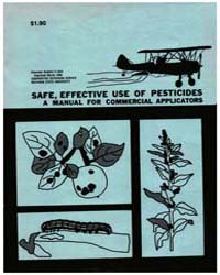 Safe, Effective Use of Pesticides, 1824-... by Michigan State University