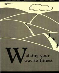 Walking Your Way to Fitness, Document E1... by Michigan State University