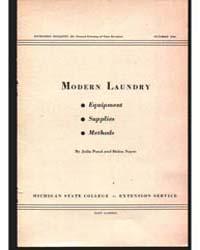 Modern Laundry, Document E184Rev1Print2 by Pond, Julia
