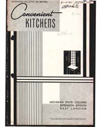 Convenient Kitchens, Document E185Rev1 by Pond, Julia