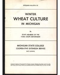 Winter Wheat Culture in Michigan, Docume... by Michigan State University