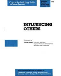 Influencing, Document E1916-1985 by Donna Sweeny