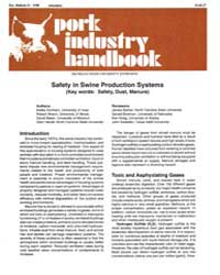Safety in Swine Production Systems, Docu... by Kelley Donham