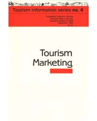 Tourism, Document E1959-1986 by Edward M. Mahoney