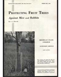 Protecting Fruit Trees, Document E196Rev... by Merril, T.A.