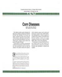 Corn Diseases, Document E1974-1986 by L. Patrick Hart