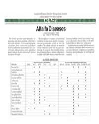 Alfalfa Diseases, Document E1976-1986 by L. Patrick Hart