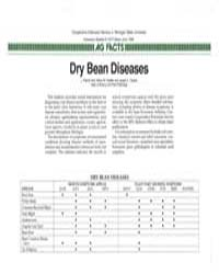 Dry Bean Diseases, Document E1977-1986 by L. Patrick Hart