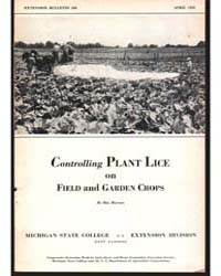 Controlling Plant Lice, Document E198 by Hutson, Ray