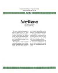 Barley Diseases, Document E1982-1986 by L. Patrick Hart